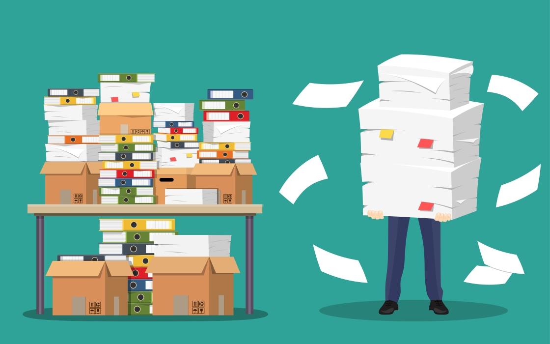 Archiviazione documenti in box deposito a Pavia