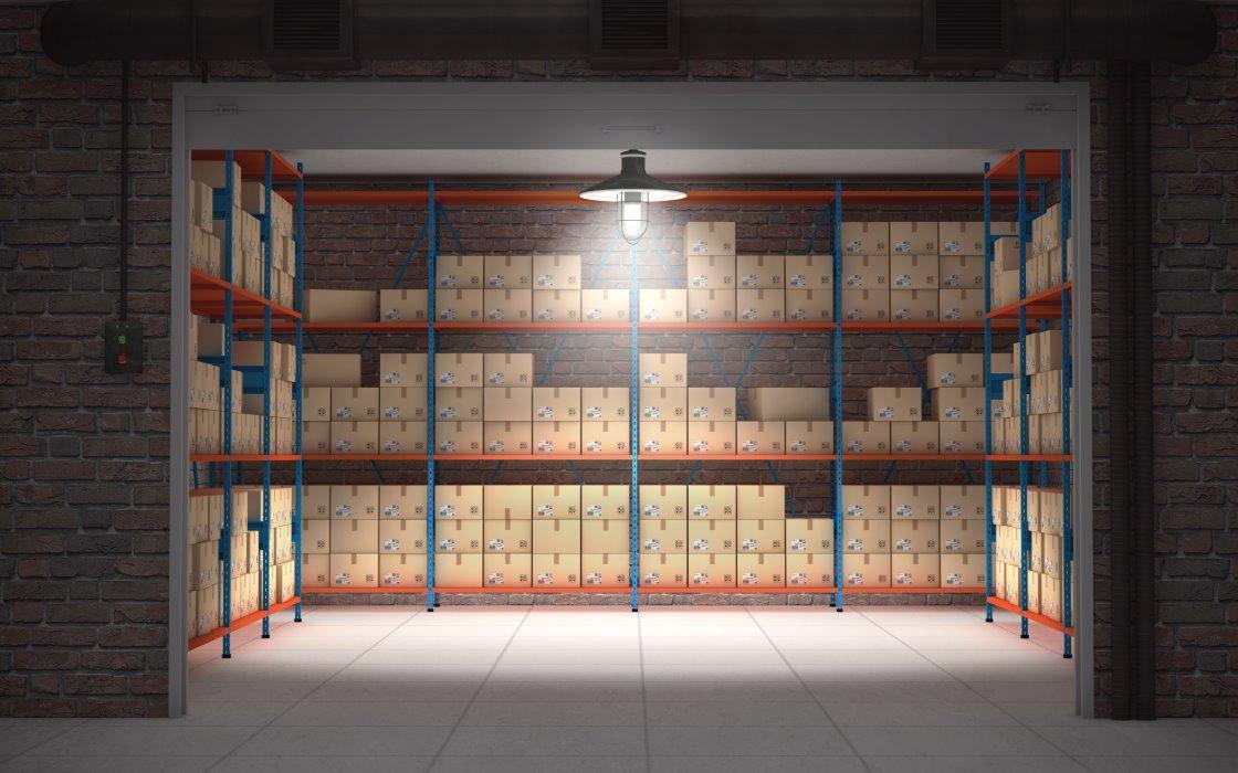 Depositare merce in magazzino a Pavia e Milano