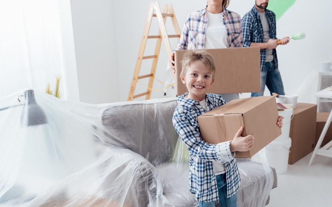 Deposito oggetti per ristrutturazione casa a Milano