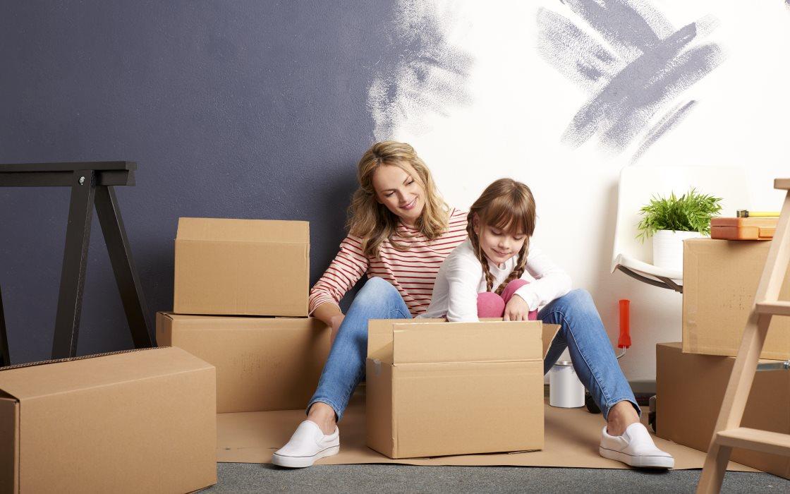 Ristrutturazioni: box temporaneo per deposito oggetti